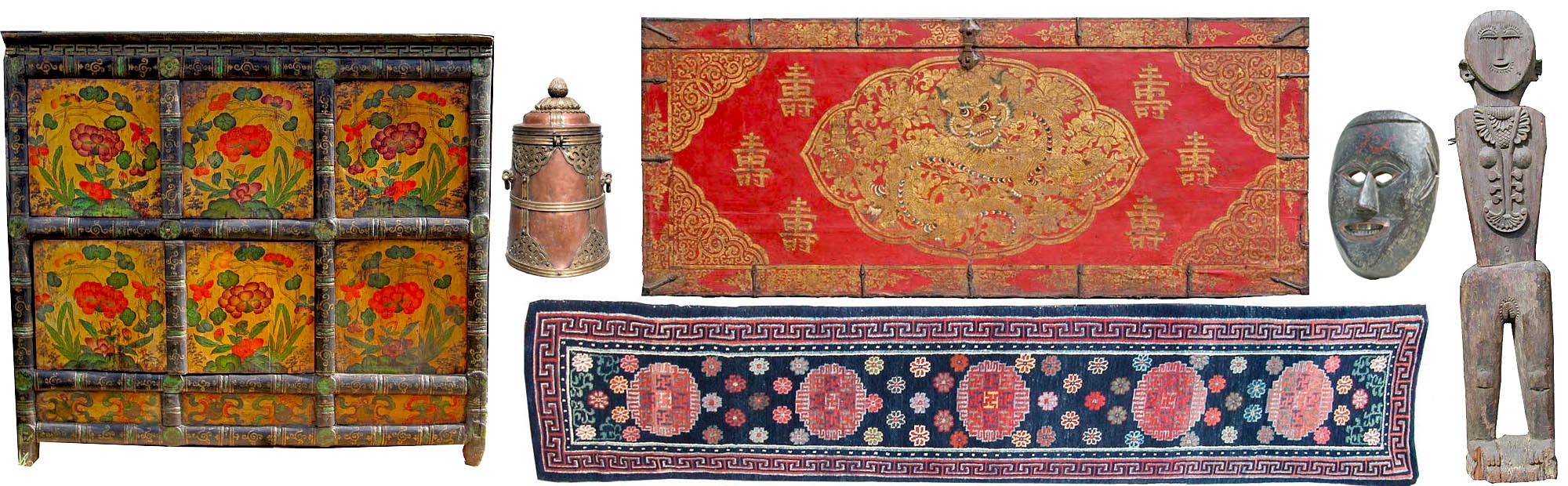 Old Tibetan Furniture U0026 Objects